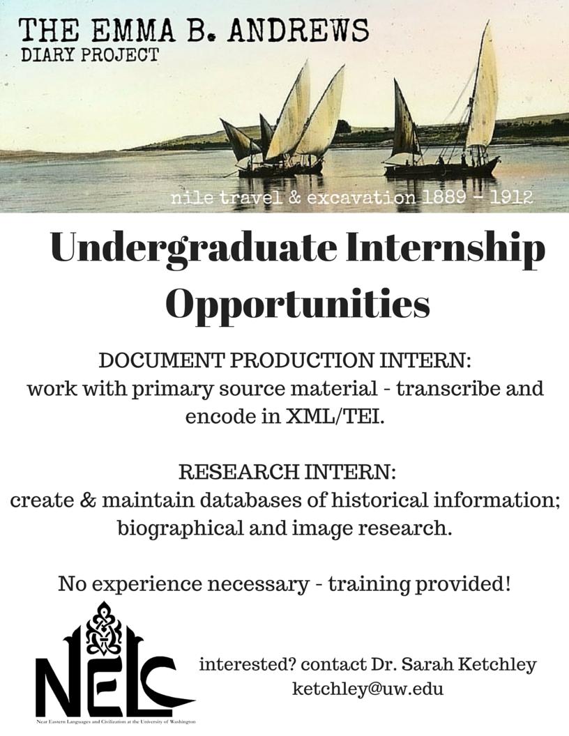 Undergraduate Internshipos