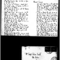 1908-2-12 Letter by Joseph Lindon Smith to Corinna Smith