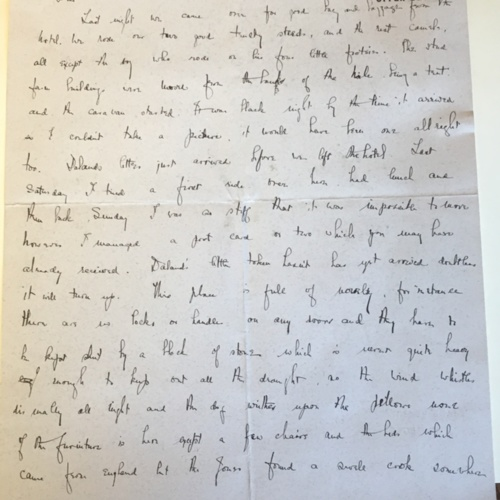 1913-1-8 Letter by Helen Winlock to her Mother
