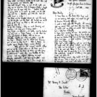 1908-2-20 Letter by Joseph Lindon Smith to Corinna Smith