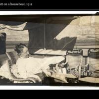 Mary Cassatt on the Nile 1911